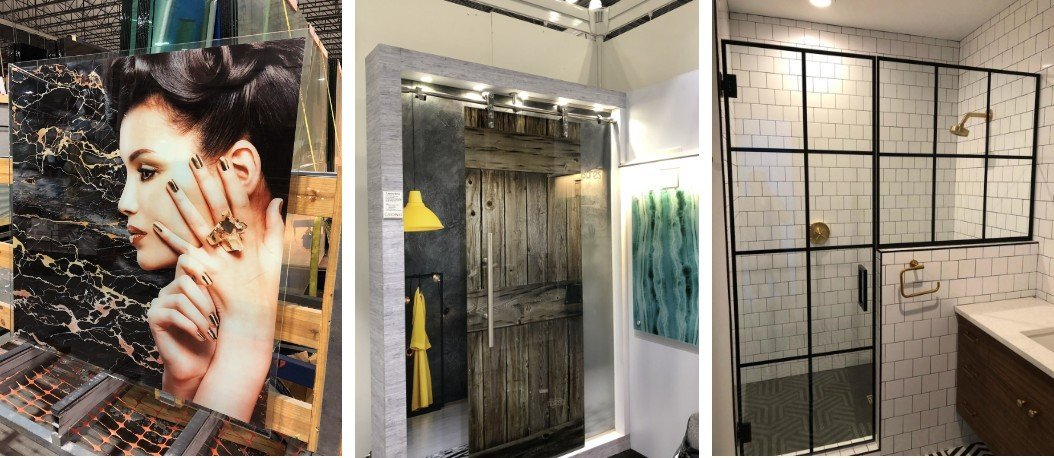 Cardinal Artisan Glass products featured in commercial & residential settings