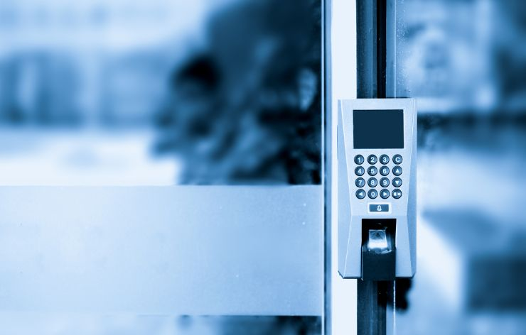 Surface mounted door control | Demers Glass AZ