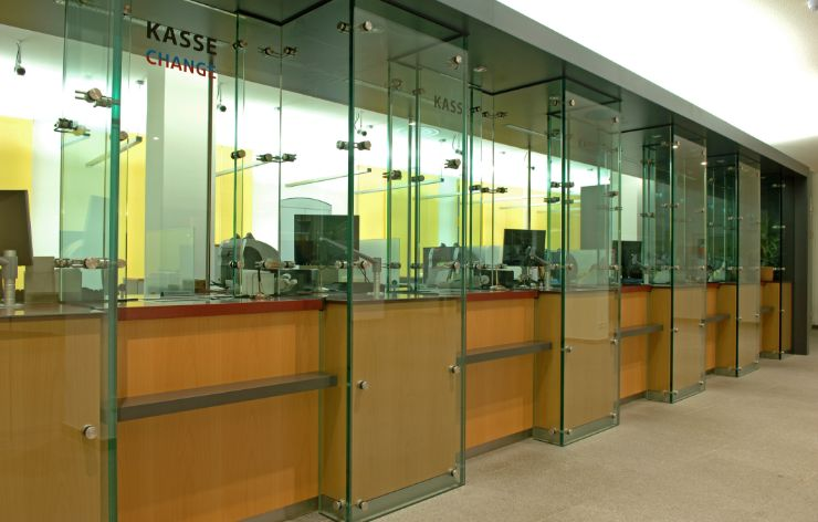 Company office with bullet resistant glass | Demers Glass AZ