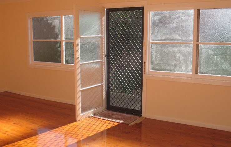 Specialty front screen door in a residential home | Demers Glass AZ