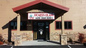 Lakeside Store Front | Demers Glass AZ