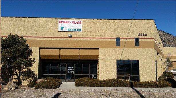 Flagstaff Store Front | Demers Glass AZ