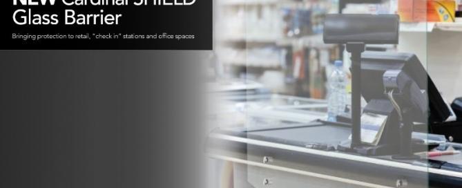 Cardinal Shield Glass Barrier | Demers Glass AZ