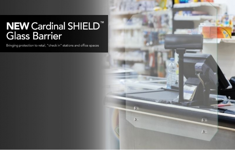 Cardinal Shield Glass Barrier | Demers Glass AZ