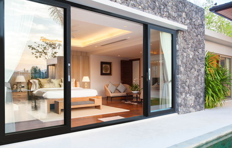 Bipart Sliding Glass Windows by Panda Windows, a Demers Glass Partner