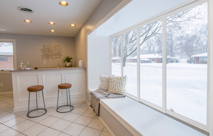 Large sliding glass windows by Panda Windows, a Demers Glass Partner