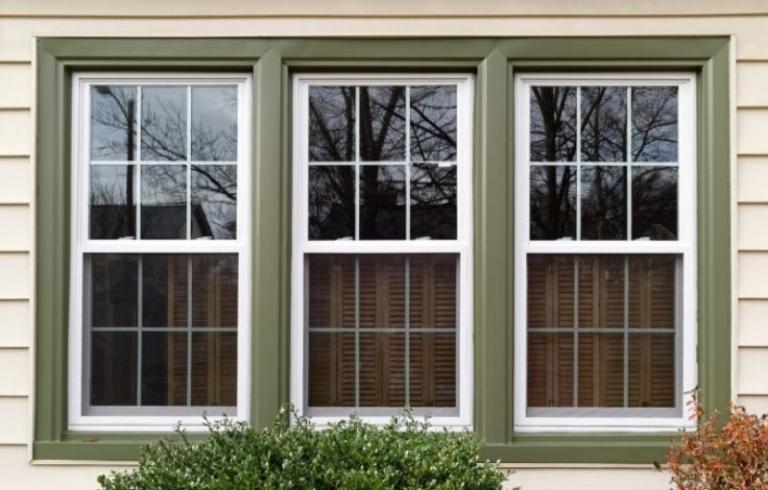 Single-hung windows