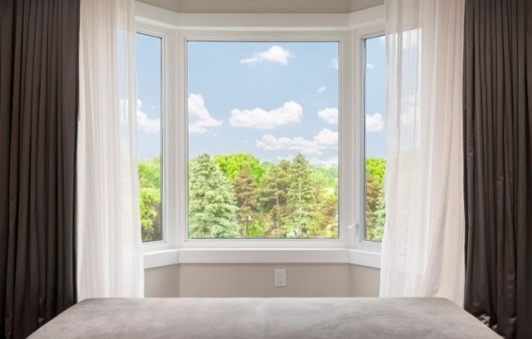 Bay Windows in owner's suite