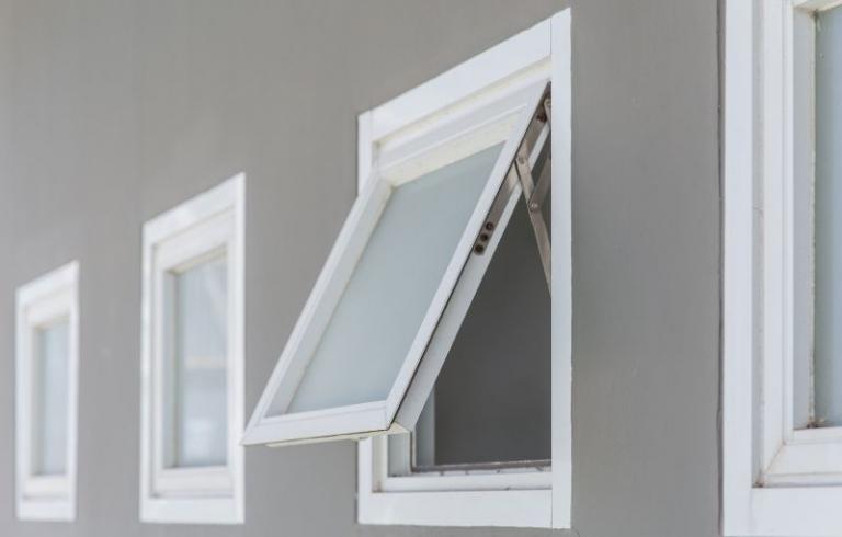 Awning style window