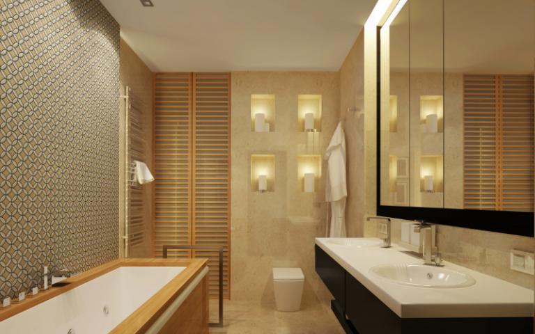 Design Tips Using mirrors in bathroom